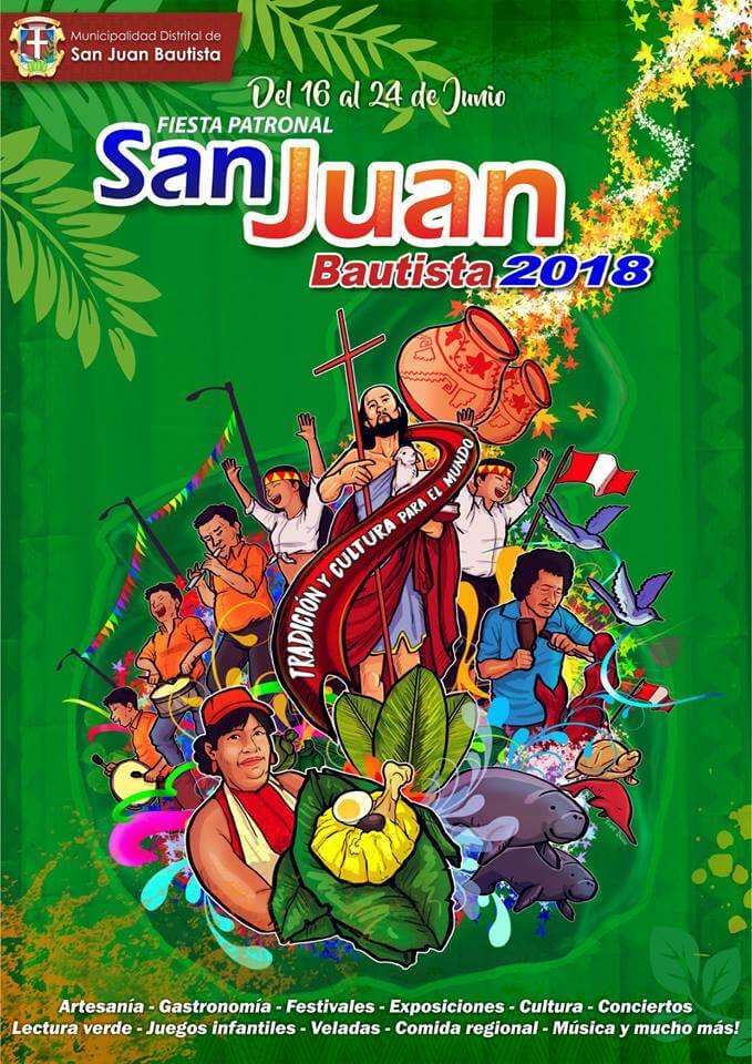 San Juan fiesta - Festividad San Juan Bautista 2018 - Artesania, gastronomia, festivales, exposiciones, cultura, conciertos, juegos infantiles, veladas, comida regional, musica y mas