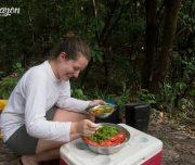 Pacaya Samiria National Reserve salad