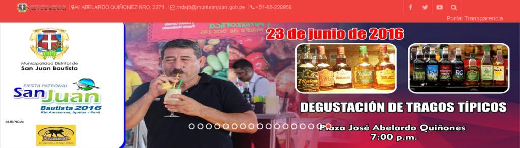 Degustacion de tragos tipicos - http://www.munisanjuan.gob.pe