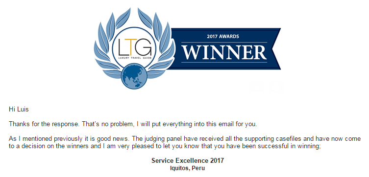 LTG Service Excellence 2017