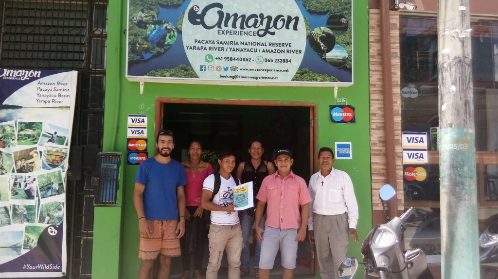 Amazon Experience and Santa Maria de Fatima representatives