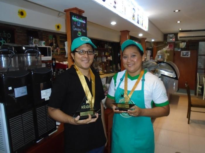 Cafezinho y sus premios