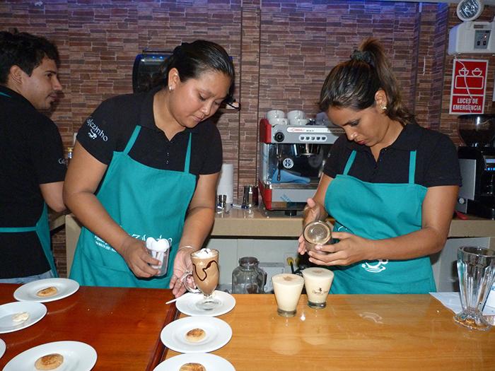 Mejor cafe de Iquitos, Cafezinhio