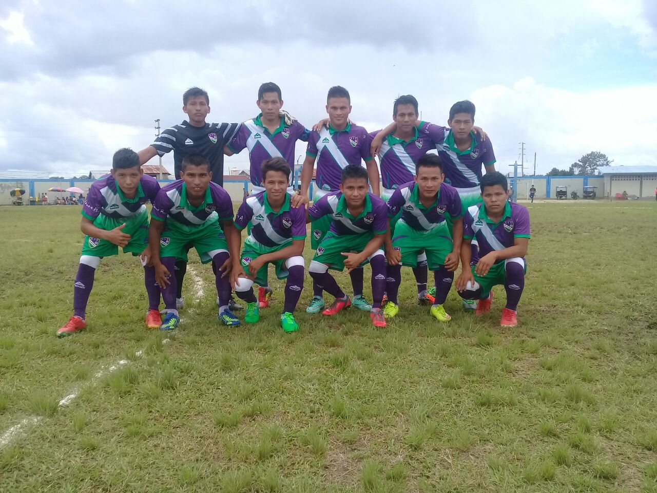 ADC El Milagro, young soccer players from Nauta, Peru