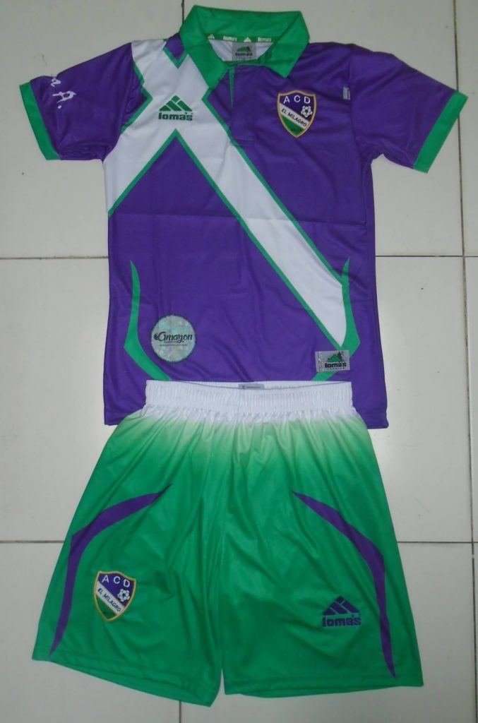 Socce Uniform for ADC El Milagro. Nauta, Peru