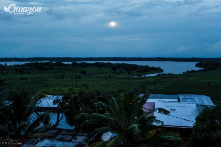 Iquitos is in the middle of the Amazon jungle