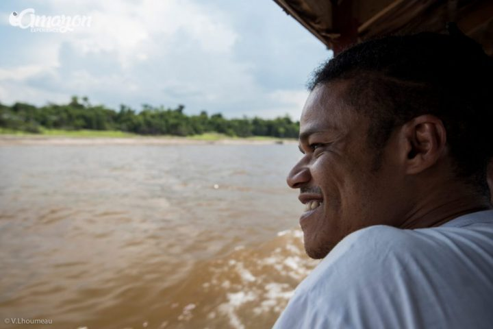Amazon river tour. Happiness and serenity.