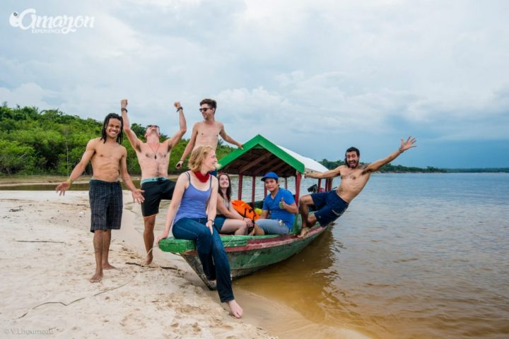 Amazon river tours for groups of friends