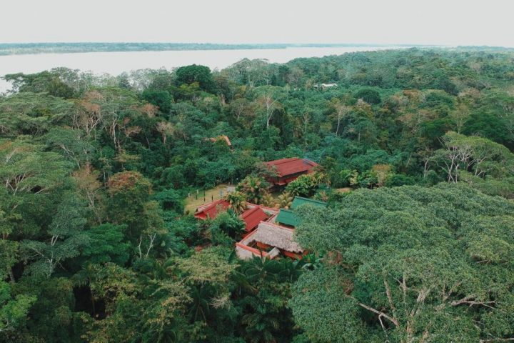 Amazon lodge in Iquitos Peru
