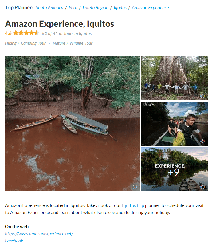 Blog - Amazon Experience - Tours in the Amazon River