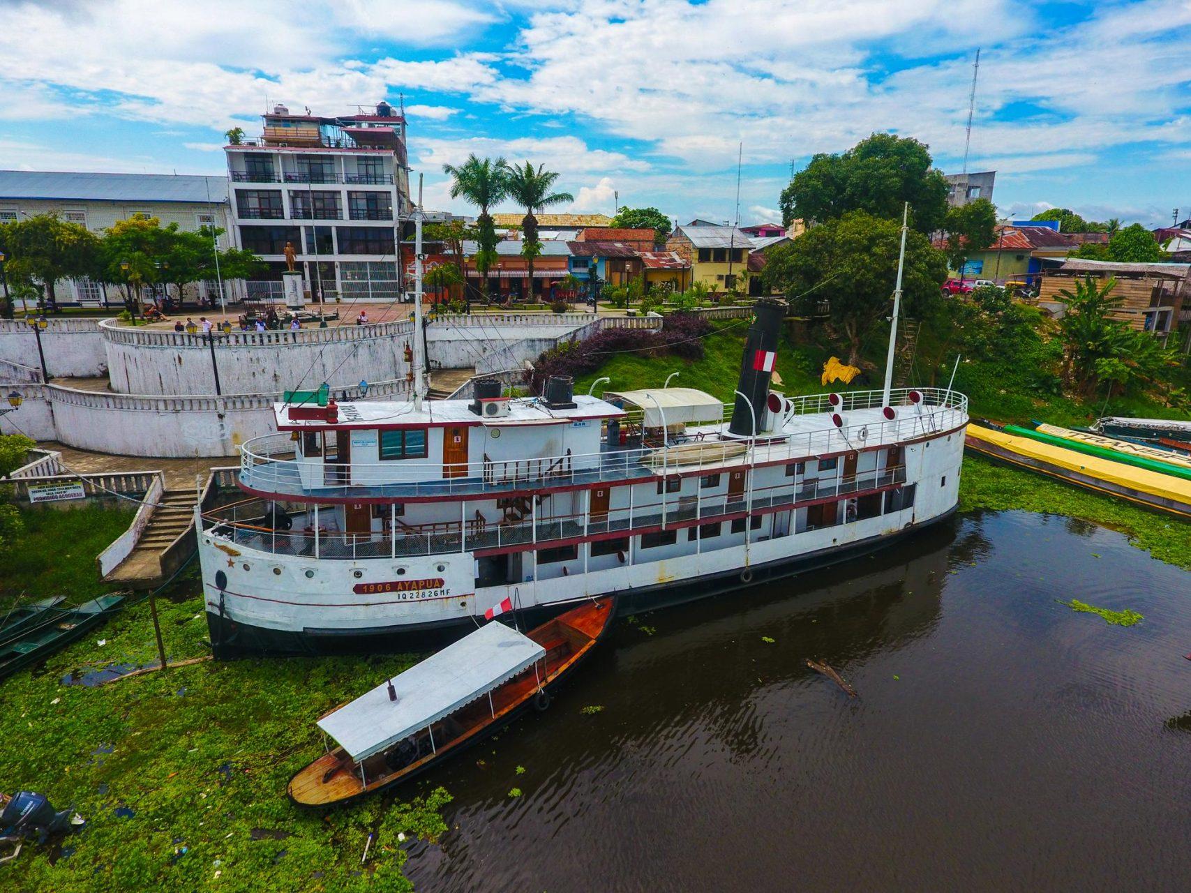 A Boat Museum in Iquitos Peru